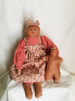 Rosie Gingergal and Baby